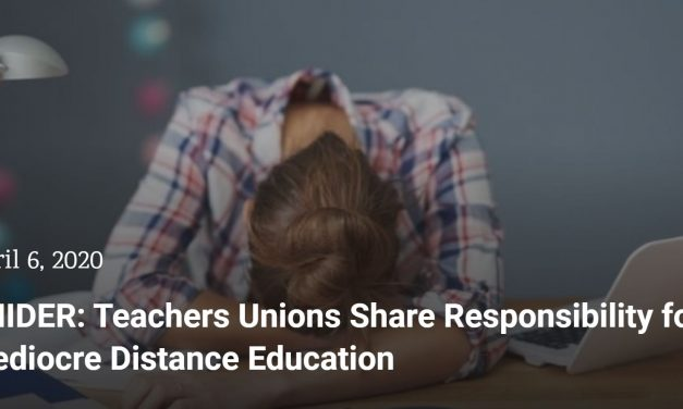 Teachers' unions share responsibility for mediocre distance education